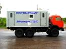 Агрегат исследования нефтегазовых скважин на шасси Камаз ГИС